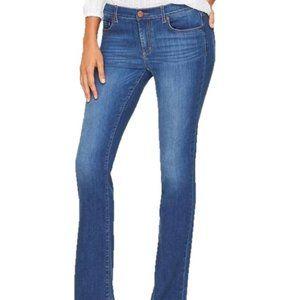 Ann Taylor LOFT Distressed Modern Boot Jeans 12